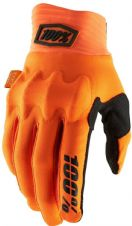 New 100% Cognito D30 Glove Flo Orange/Black S M L XL Motocross